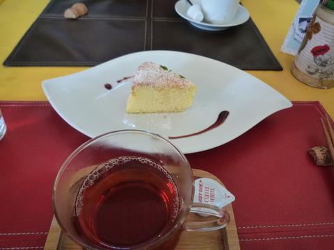 フェスタデルグラーノ 紅茶デザート