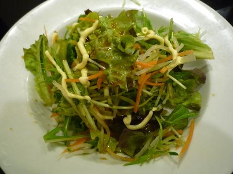 杏仁香 野菜サラダ